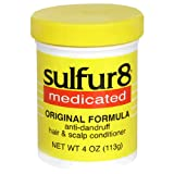 Sulfur8 Medicated Anti-Dandruff Hair & Scalp Conditioner, Original Formula, 4-Ounce Bottle (Pack of 3)