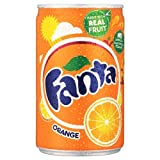 Fanta Orange Mini Can 24x150ml