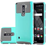 LG Stylus 2 Case LG G Stylo 2 Dual Layer Hybrid Heavy Duty Case Impact Resistant Shock-Absorption Case Armor Full-Body...