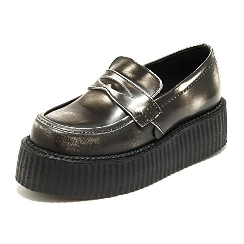 1134H mocassini donna UNDERGROUND creeper wulfurun scarpe loafers shoes women [38 EU-5 UK]