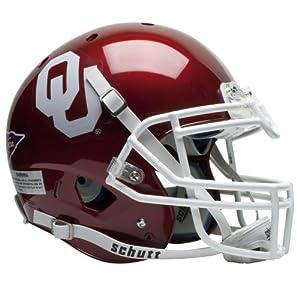 NCAA Oklahoma Sooners Authentic XP Football Helmet by Schutt