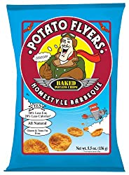 Potato Flyers, Homestyle Barbeque, 1.5-Ounce Bags (Pack of 24)