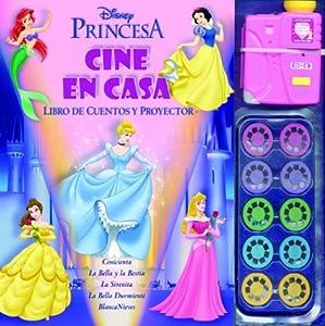 Princesas princesses cine en casa libro de cuentos y - Proyector cine en casa ...