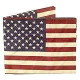 Dynomighty Men's American Flag Ecofriendly Tyvek Wallet