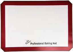Fat Daddio\'s Silicone Baking Mat, Fits Half Size Sheet Pan 11 5/8 Inch x 16 1/2 Inch