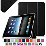 iPad 1 Case - Fintie Ultra Slim Lightweight PU Leather Stand Case Cover for Apple iPad 1 1st Generation, Black
