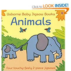 Animals (Usborne Baby Jigsaw Books)