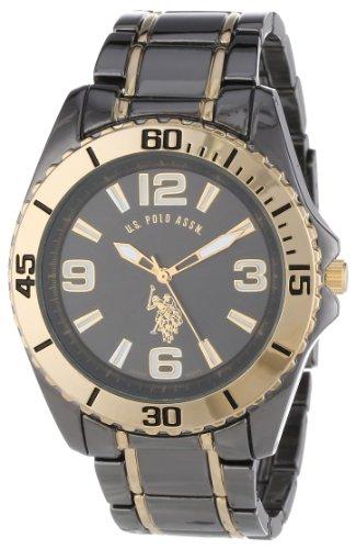 U.S. Polo Assn. Classic Men'S Usc80244  Gunmetal And Gold-Tone Analog Watch