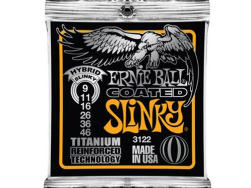 Ernie Ball 3122 Coated Electric Hybrid Slinky Guitar Strings