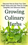 img - for Growing Culinary Herbs book / textbook / text book
