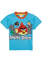 Angry Birds Little Boys Short Sleeve Animal Printing Pure Cotton Tees T Shirts