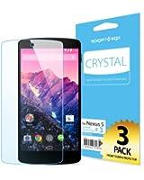 **液晶保護フィルム 3枚入**  [高い 透明度] Spigen Google Nexus5 クリスタル クリア【国内正規品】【SGP10559】