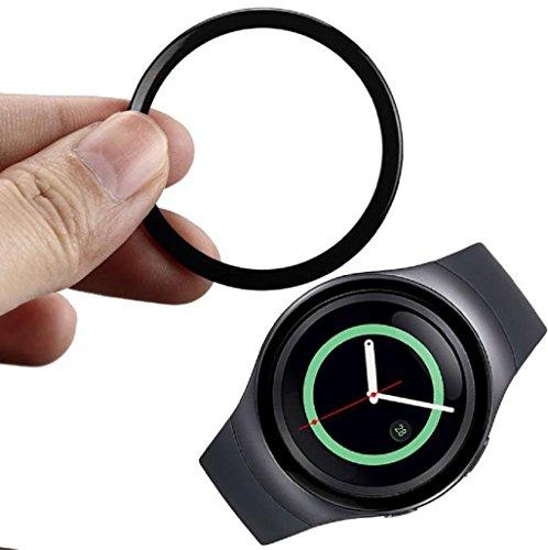 para-samsung-gear-s2-sm-r720-sannysis-reloj-marco-de-metal-watch-metal-frame-negro
