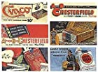HO Scale 1930s-1960s Vintage Tobacco Billboards -- Set #1