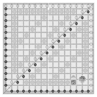 Premium Quilting Ruler And Template Creative Grids Square Ruler