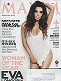 Maxim 2014 January/february - Eva Longoria + 8 More Pages Inside Magazine