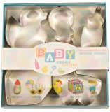 Fox Run Baby Cookie Cutter Set
