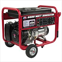 Big Sale All Power America APGG6000 6,000-Watt Gas Powered Portable Generator