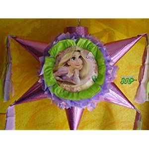 Pinata Disney Tangled Rapunzel Star Shape $27.99 from Amazon