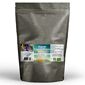 Passion Flower Organic Powder 1.10 Lbs - 500 gr - 16Oz