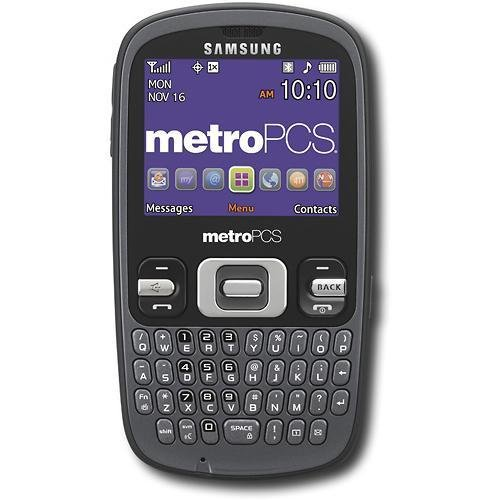 Samsung Link SCH-R350 Cell Phone for Metro PCS - Good Condition - No Contract - 30 Day Seller's Warranty (Red)
