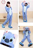 Women's Ladies Men's Adult Unisex Fleece Animal Onesies Novelty Pyjamas Nightwear Costumes Halloween