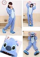 Women's Ladies Men's Adult Unisex Fleece Animal Onesies Novelty Pyjamas Nightwear Costumes Halloween