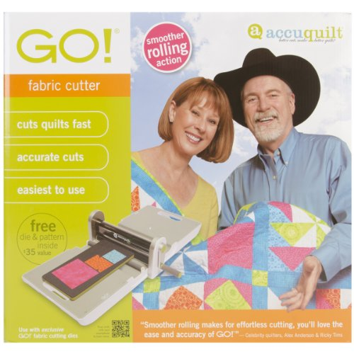 Accuquilt Go Fabric Cutter front-77125