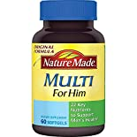 Nature Made Multi For Him, Full Strength Minis, 60 softgels