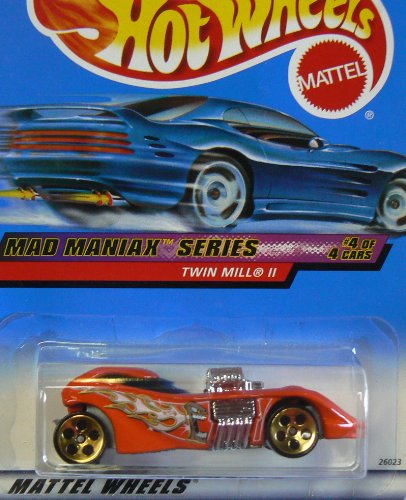 Mad Maniax Series #4 Twin Mill 2 #2000-20 Collectible Collector Car Mattel Hot Wheels 1:64 Scale - 1