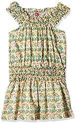 People Girls' Dress (P30602066438810_Pink_7-8 Yrs)