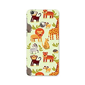 ArtzFolio Cartoon Animals : LeTV Le 1s Matte Polycarbonate ORIGINAL BRANDED Mobile Cell Phone Protective BACK CASE COVER Protector : BEST DESIGNER Hard Shockproof Scratch-Proof Accessories