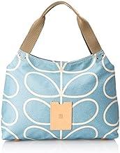 ETC by Orla Kiely Women's Giant Linear Stem Zip Shoulder Bag