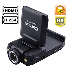 K2000 CarCam Car DVR Wide Angle Dashboard Camera HD Car Black Box