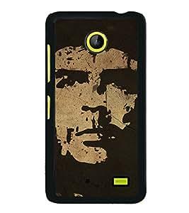 Famous Cuba Hero 2D Hard Polycarbonate Designer Back Case Cover for Nokia X :: Nokia Normandy :: Nokia A110 :: Nokia X Dual SIM RM-980 with dual-SIM card slots
