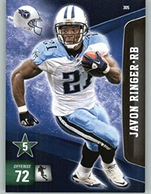 2011 Panini Adrenalyn XL Football Card #305 Javon Ringer - Tennessee Titans - NFL Trading Card