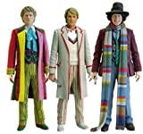 The Fourth, Fifth & Sixth Doctor Who Action Figures
