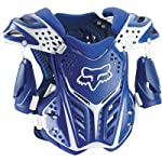 FOX Racing MX RACEFRAME Roost Guard Blue L