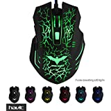 HAVIT HV-MS672 Ergonomic LED 6D Buttons Gaming Mouse with 7 Soothing LED Colours