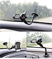 Car Mount,iPhone 6 Car Mount,Gtopin(TM) Universal Car Mount Holder for iPhone 6/6S,iPhone 6 Plus,Car Holder for Samsung Galaxy S6 and Phones Car Mount
