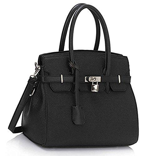 womens-designer-tote-bags-ladies-celebrity-style-faux-leather-handbags-z-black