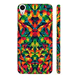 HTC Desire 626 Abstract Forest designer mobile hard shell case by Enthopia