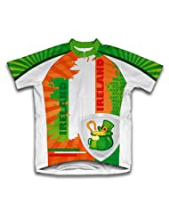 Luck of The Irish Short Sleeve Cycling Jersey for Women