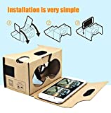 Blisstime-Google-Cardboard-V20-3D-Glasses-VR-Virtual-Reality-Cardboard-Kit-2015-with-Headband-Fit-for-3-6inch-Screen