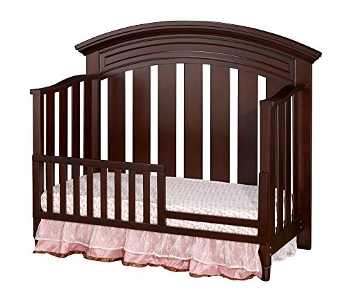 Westwood Design Geneva Toddler Guard Rail, Chocolate Mist