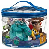 Disney Toy Story Woody, Buzz Lightyear, Monster Inc Sully, Dash, Nemo, the Incredible, Bath Pool Squeak Toys