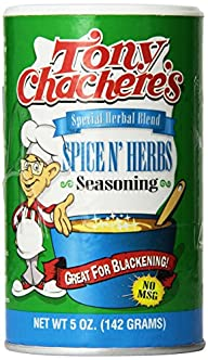 Tony Chachere's Special Herbal Blend…