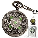 51WS5xM8UNL. SL160  Celtic Pocket Watch And Tin With Free Lighter