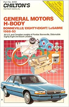 General motors h body 1988 93 chilton model specific for Phone number for general motors