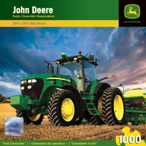 Masterpieces Puzzle Company John Deere Field Commander Jigsaw Puzzle (1000-Piece) front-877807